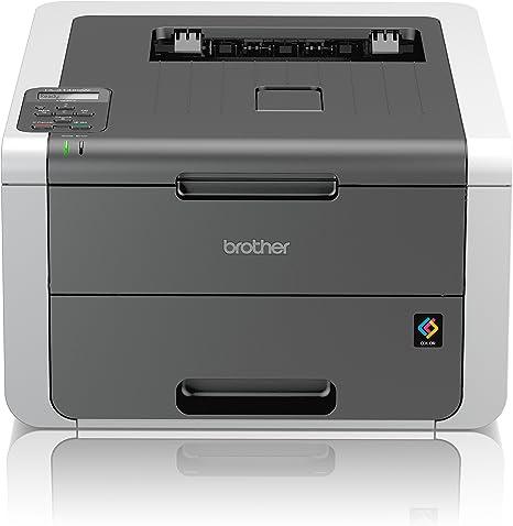 Brother HL3142CWG1 - Impresora láser (18 ppm, 2400 x 600 dpi, LED ...