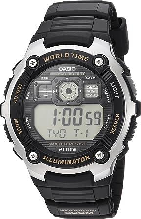 Casio Ae-2000w-9av Reloj Digital para Hombre Colección Youth Caja ...