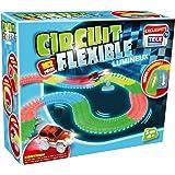 Circuit Flexible et Lumineux 162 pcs – Le circuit de voitures dont les rails se tordent à volonté et s'illuminent