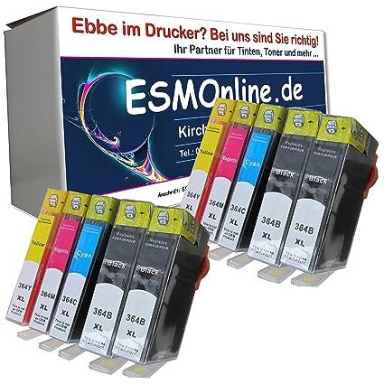ESMOnline - 10 Cartuchos de Impresora XL para COMPATIBLES para HP ...
