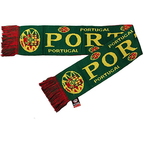 Amazon Com Portugal Green Red Country Flag Logo Thick Scarf Viva Souvenirs New Patio Lawn Garden