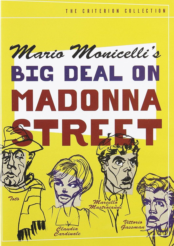 Big Deal on Madonna Street Totò Vittorio Gassman Marcello Mastroianni Toto