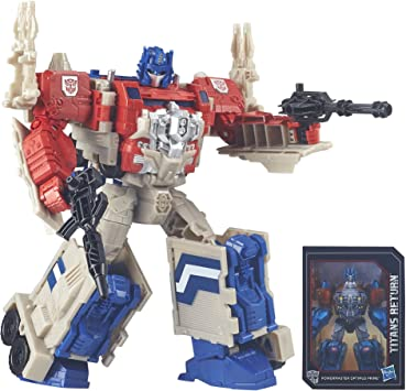 Transformers Generations Leader PowerMaster Optimus Prime Action Figure (Produzione sospesa)
