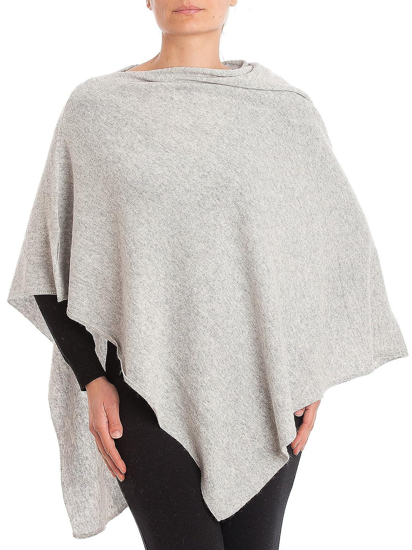 CDM product DALLE PIANE CASHMERE - Poncho Cashmere Blend - Woman big image