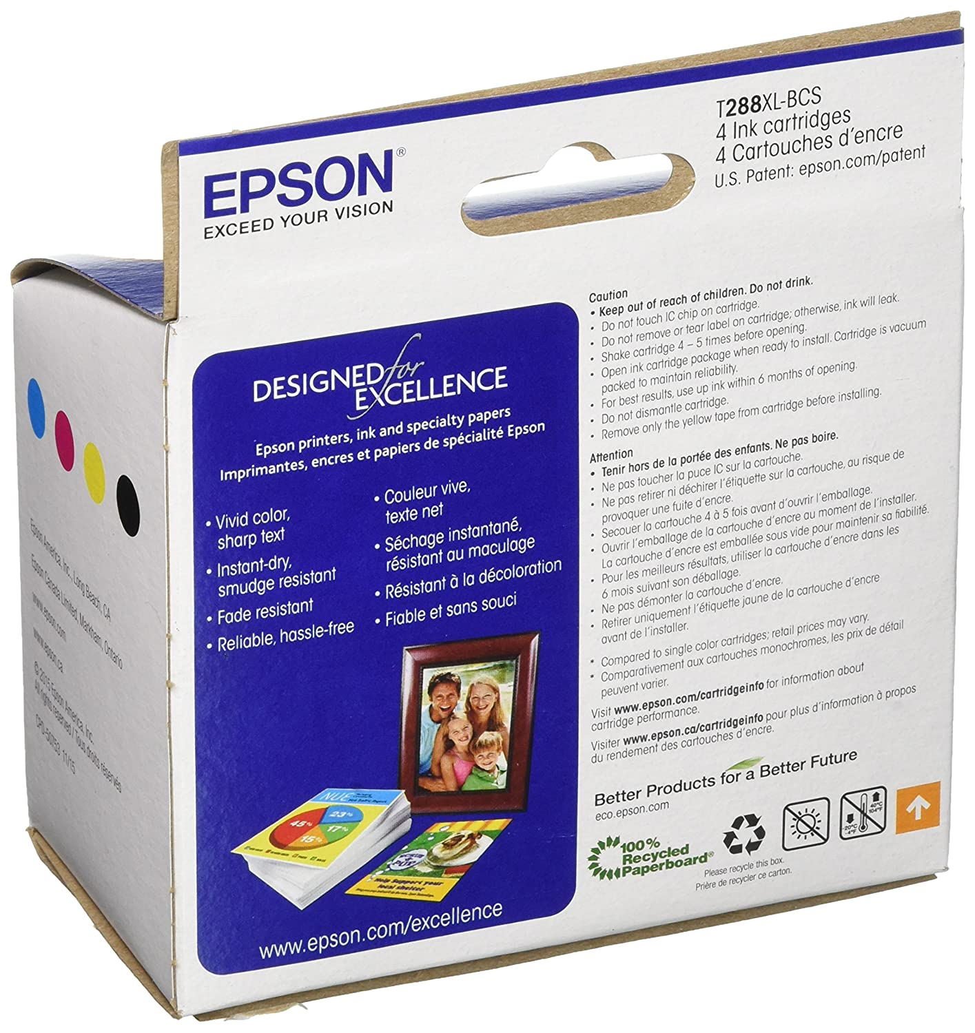 epson t288xl bcs black high capacity and color