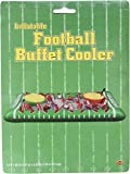 Beistle 54253 1-Pack Inflatable Football Buffet Cooler for Parties, 28-Inch Width by 4-Feet 5-3/4-Inch Length