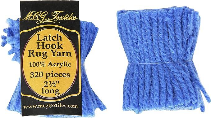 Smyrna Tapestry Yarn 10 x 25gr Precut Yarn Set Latch Hook Pre Cut Yarn 250gr