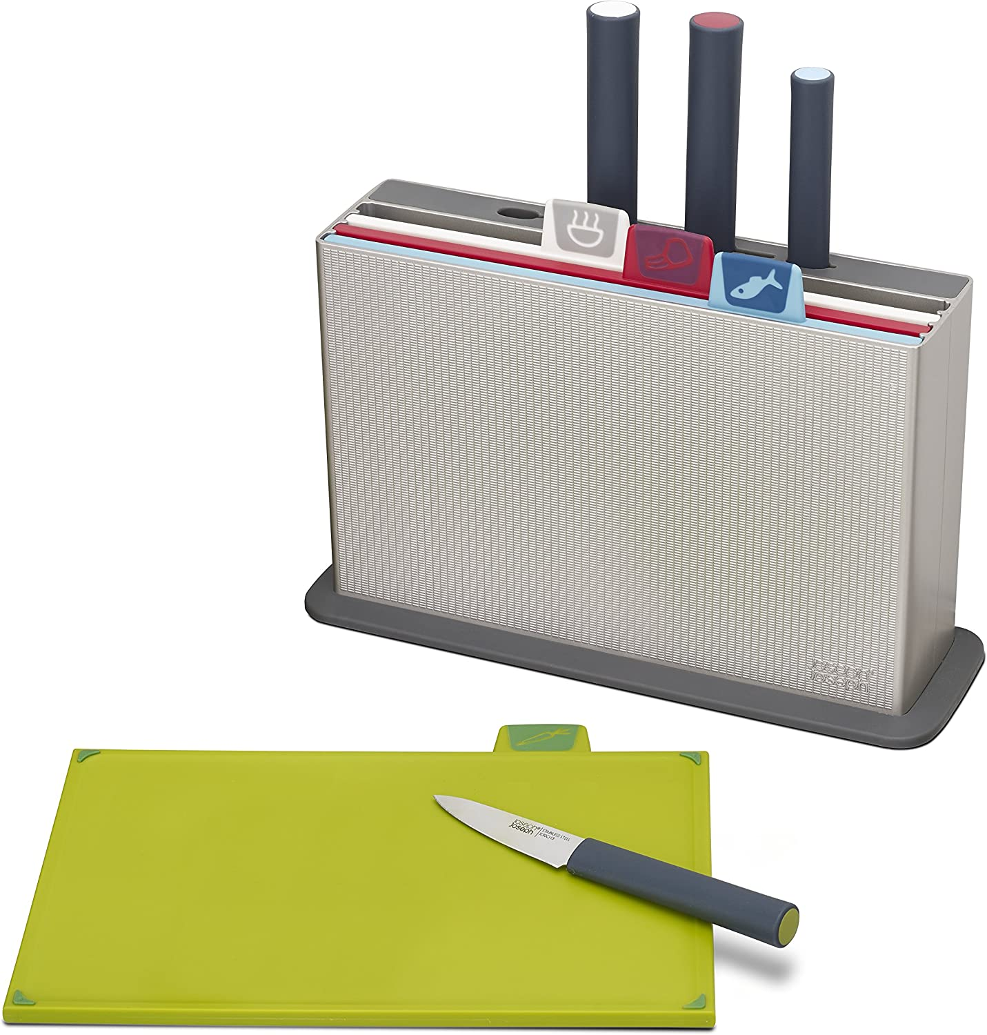 New sales Joseph Index Plastic Cutting Board Outlet sale feature Set Matching with 4 Kn
