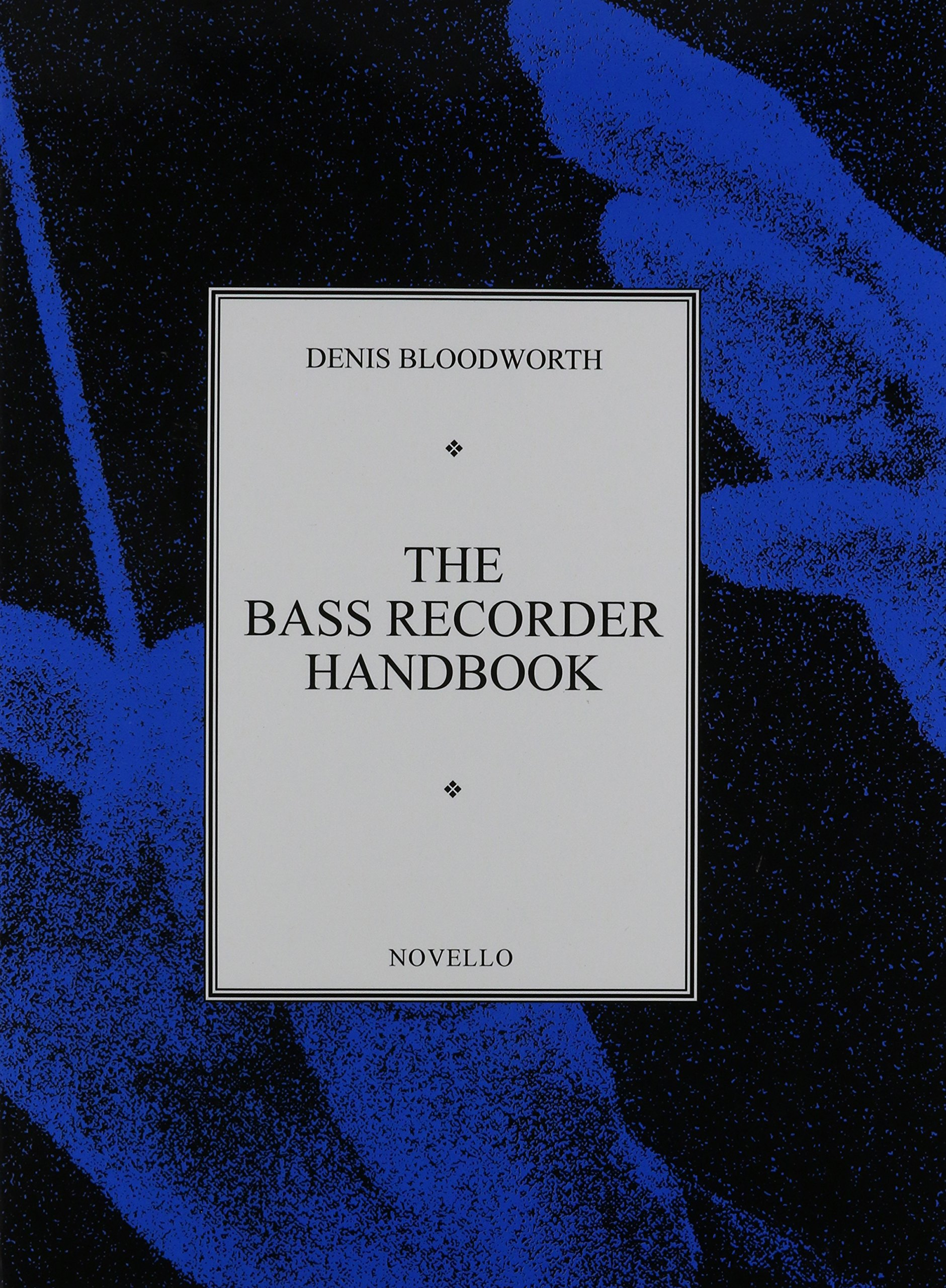 BASS RECORDER HANDBOOK Denis Bloodworth product image