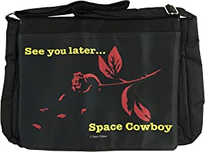 NaniWear Cowboy Anime Large Geek Bebop Messenger/Laptop Bag