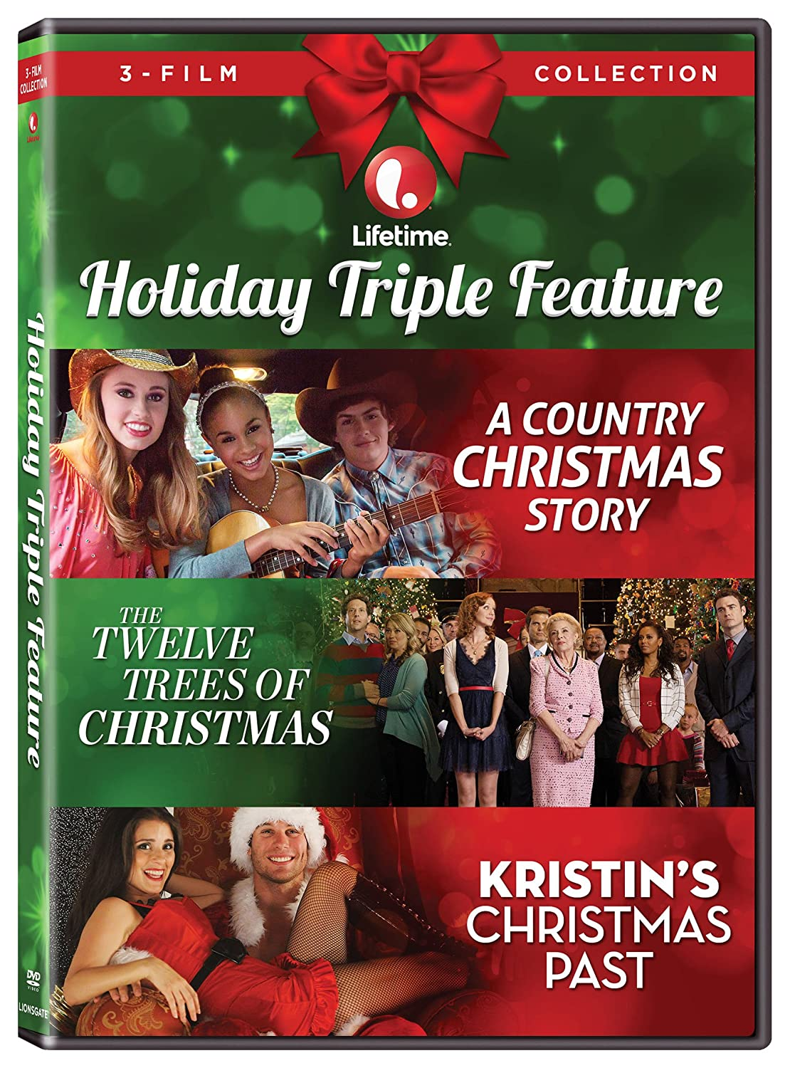 Amazon.com: Lifetime Holiday Triple Feature [DVD]: Mary Kay Place ...