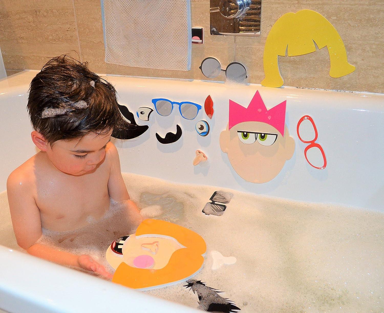 Barney /& Buddy BA007 Silly Faces Bath Stickers