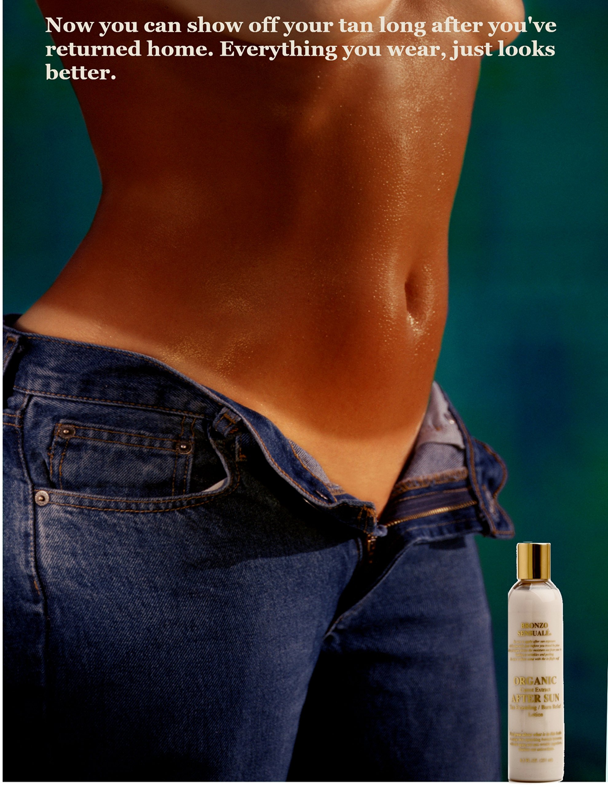 Bronzo Sensualé After Sun and Sun Tan Extender Carrot Lotion 8.5 Ounces by BRONZO SENSUALE (Image #3)