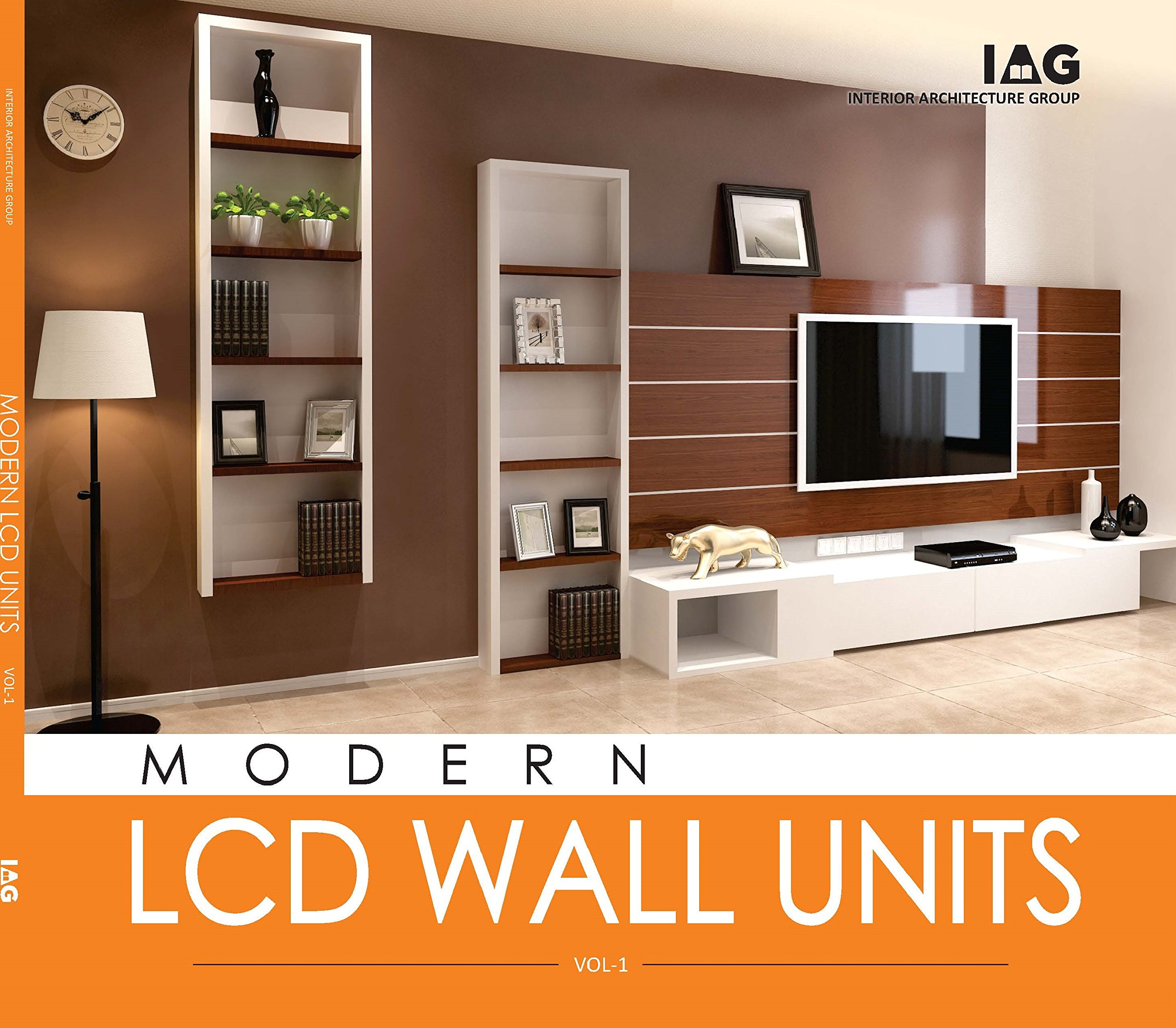 Buy Modern Lcd Wall Units Vol 1 Book Online At Low Prices In India