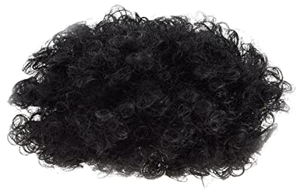 Rubies - Peluca afro, color negro (S1429)