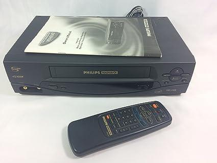 Amazon com: Philips Magnavox VRA431AT24 Video Cassette Recorder