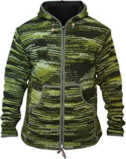Shopoholic Fashion Mens Tie dye Woolen Hippie Jacket