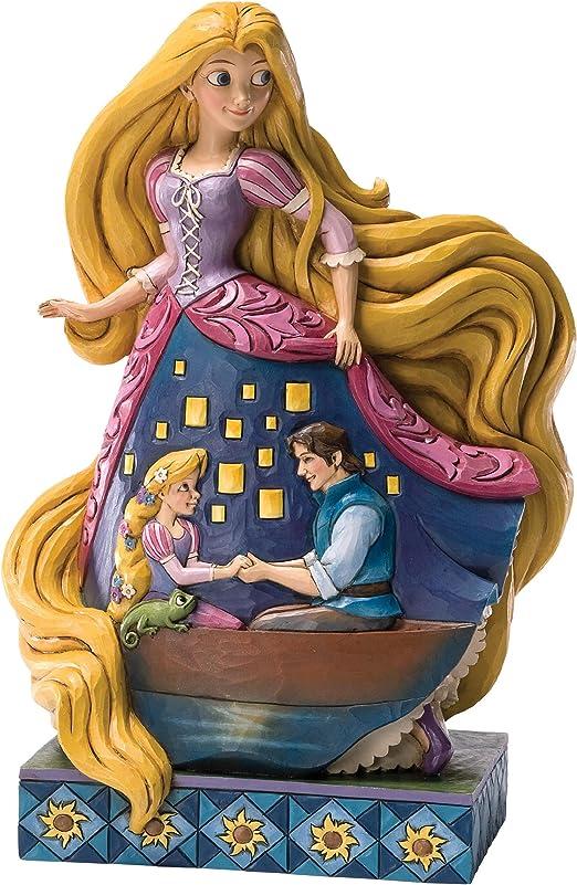 "Jim Shore Disney Showcase /""One Magical Night/"" Rapumzel Figurine New in Box"