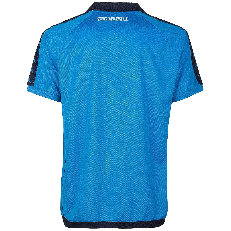 SSC NAPOLI Retro Camiseta, Hombre, Azul Claro, M: Amazon.es: Ropa ...