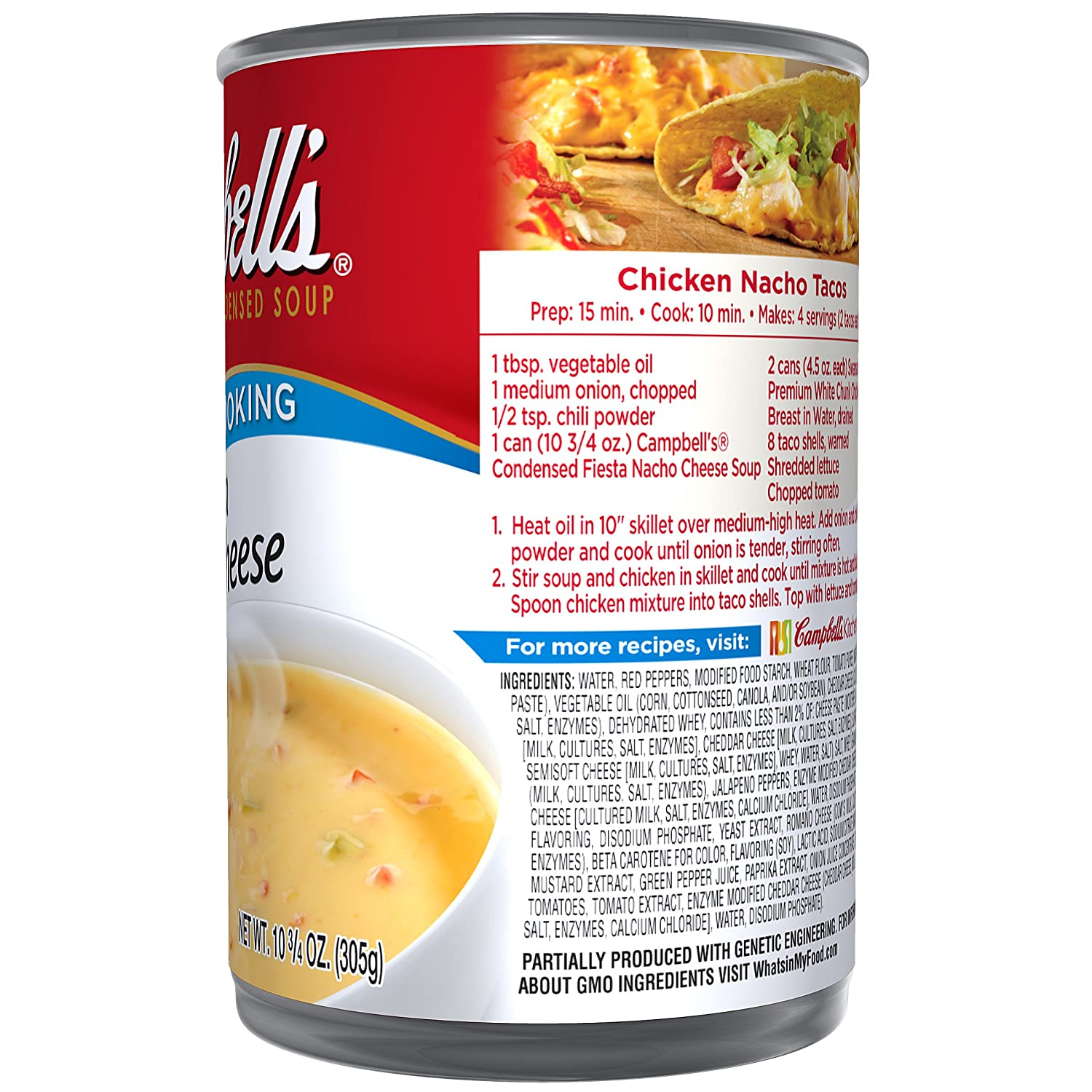 Amazon.com: Campbells Condensed Soup, Fiesta Nacho Cheese, 10.75 Ounce: Prime Pantry