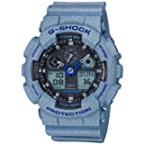 [カシオ]CASIO 腕時計 G-SHOCK ジーショック デニムドカラー GA-100DE-2AJF メンズ