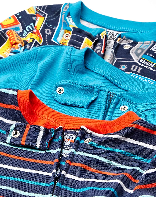 Spotted Zebra Unisex Baby Pajama Set Marke