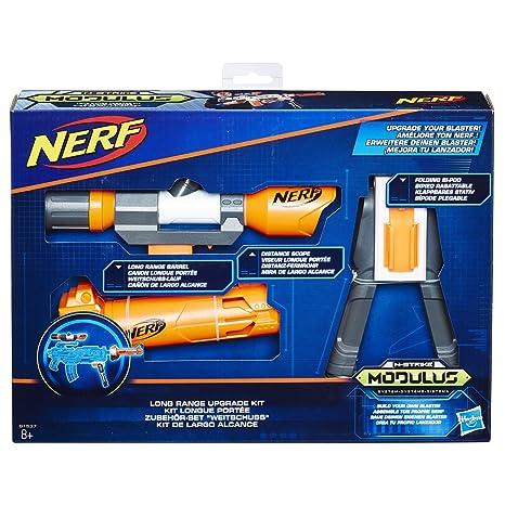 Hasbro Nerf b1537eu6 N,Strike Modulus Set di Accessori Ampia schuss,  Giocattolo Blaster di