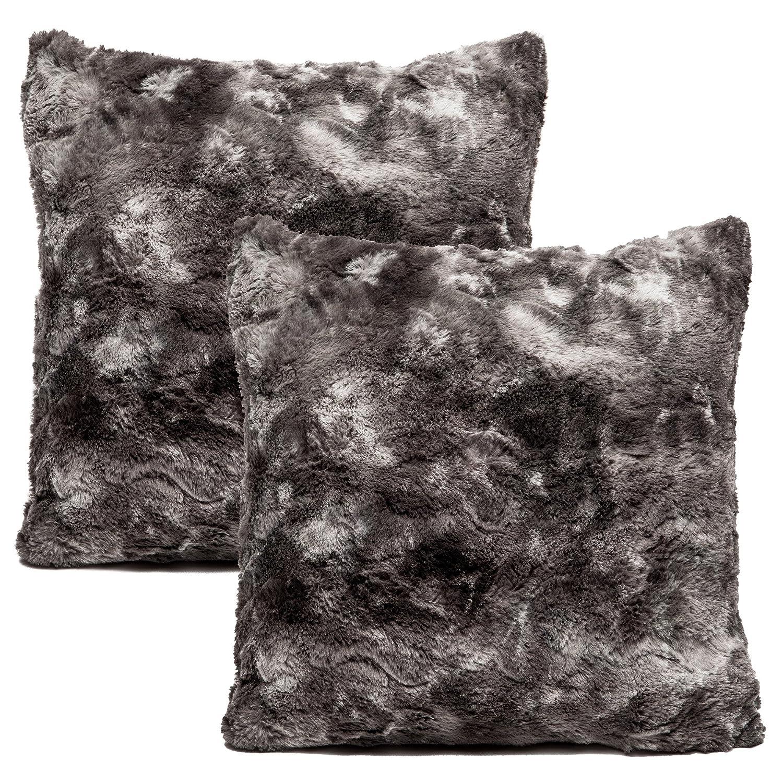 Amazoncom Chanasya Super Soft Fuzzy Faux Fur Cozy Warm Fluffy Dark