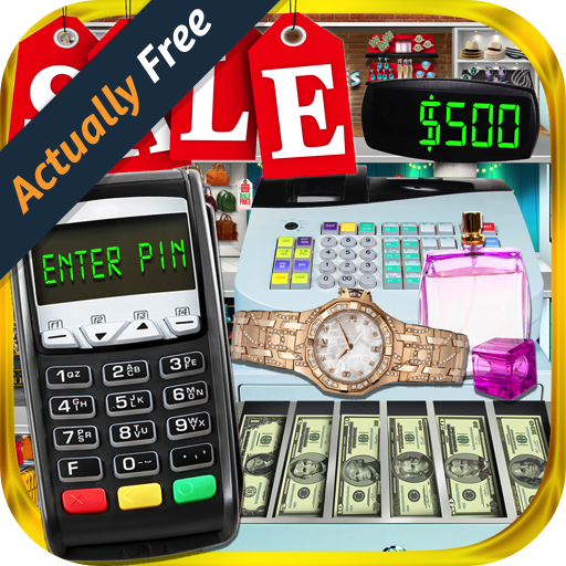 Credit Card & Cash Register Sim - Kids Shopping Mall Games & Cashier - Rich Mall
