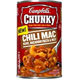 Campbell's Chunky Soup, Chili Mac, 18.8 Ounce (Pack of 12)