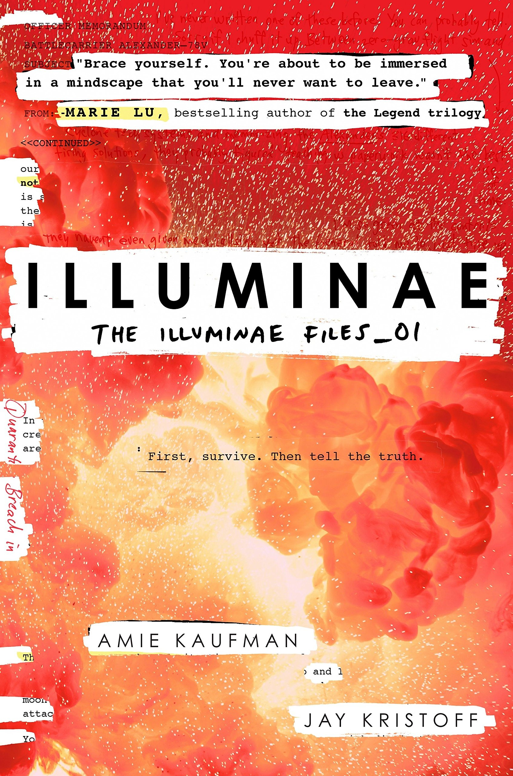 Image result for illuminae book cover