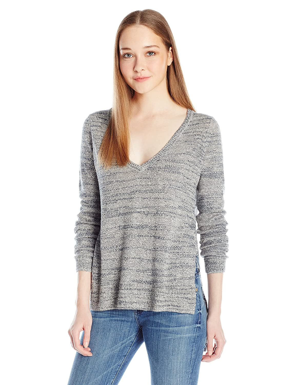 French Connection Women's Mono Masai Knits Sweater African Stone/Congo Slate Small 78FCE