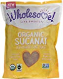 Wholesome Sweeteners Organic Sucanat, 32 oz. (Pack of 12)