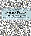 Johanna Basford 2021 Weekly Coloring Planner Calendar