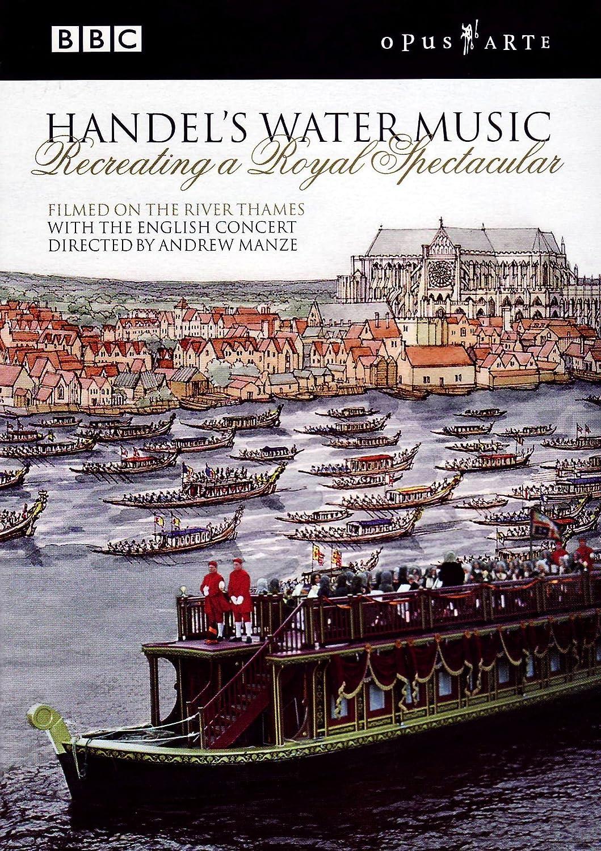 Handel: Water Music [DVD] [2010]: Amazon.co.uk: Handel, Manze ...
