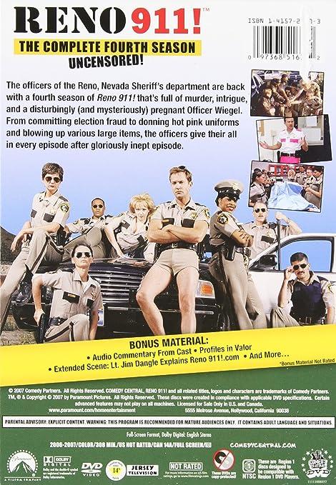 Amazon.com: Reno 911!: Season 4 (Uncensored): Cedric ...