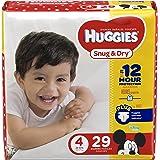 HUGGIES Snug & Dry Diapers, Size 4, 29 Count, JUMBO PACK (Packaging May Vary)