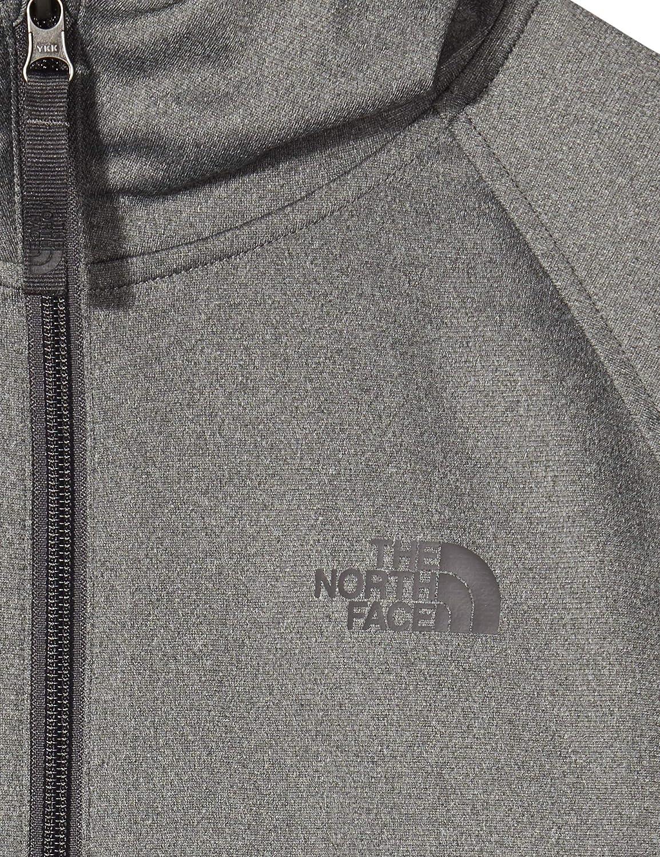 Ni/ños The North Face B Tec GLCR 1//4 Zp HD Sudadera con Capucha t/écnica Glacier