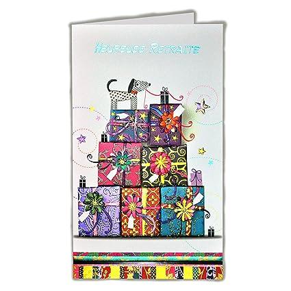 afie 15 - 6301 tarjeta despedida Feliz jubilación - regalo ...
