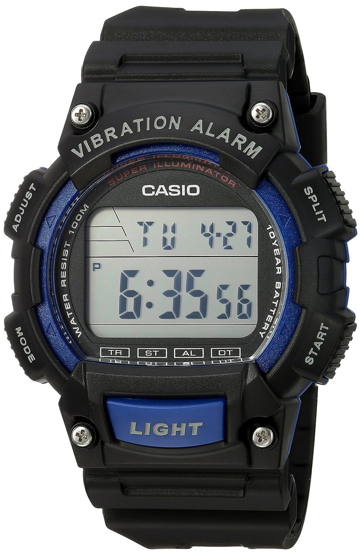 Reloj Casio W-736H-2AVCF Unisex con cuarzo japonés con correa de resina y Vibration Alarm