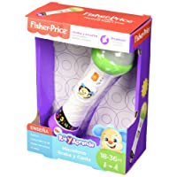 Fisher Price Baby Toy Laugh & Learn Rock & Record Microphone