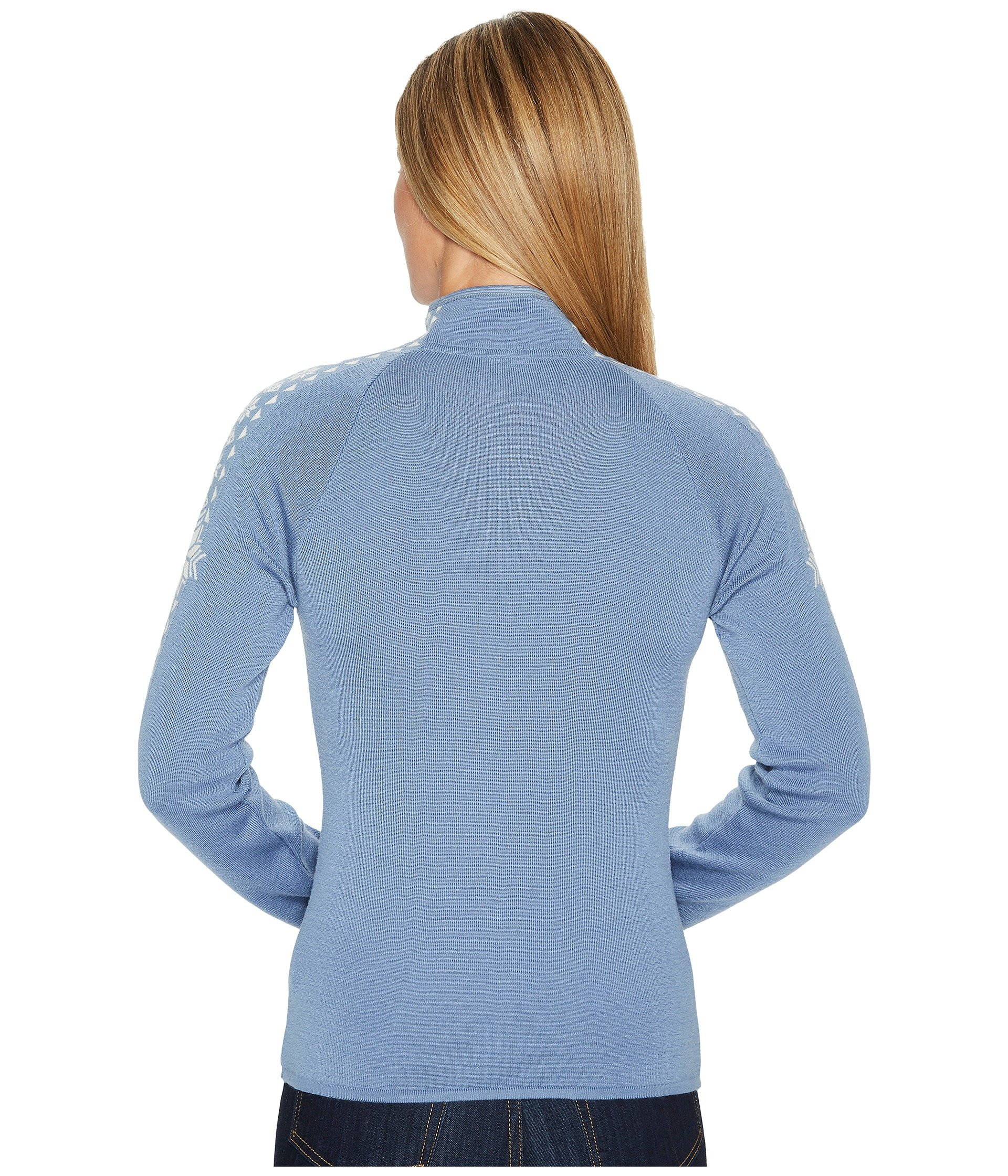 Dale of Norway Women's Geilo Feminine D-Blue Shadow/Off-White Small by Dale of Norway (Image #4)