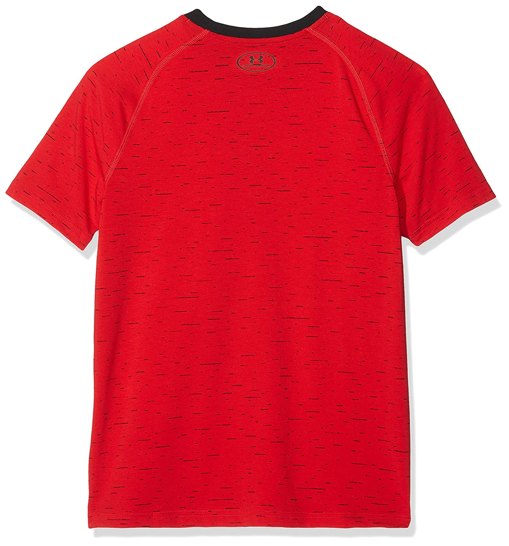 Under Armour Boys Cotton Knit Short Sleeve T-Shirt