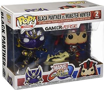 Marvel Pack Pop Vs Capcom: Infinite - 2 Figuras Black Panther Vs ...