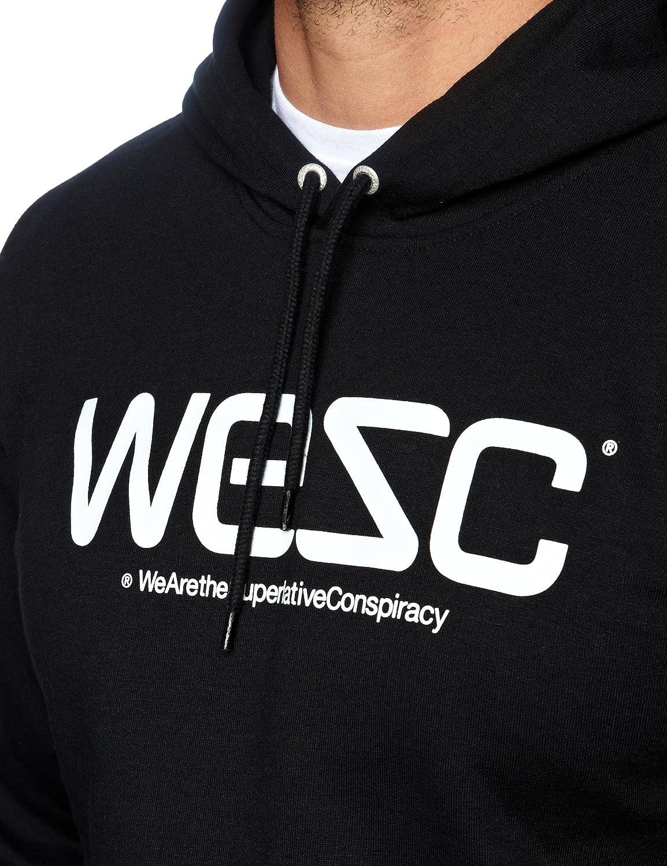 Wesc - Sudadera con capucha para hombre, talla S, color Negro: Amazon.es: Ropa y accesorios