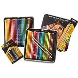 Prismacolor Premier Colored Pencils, Soft Core, 48 Pack (3598T) with 2 Blender Pencils (962) & Pencil Sharpener (1786520)