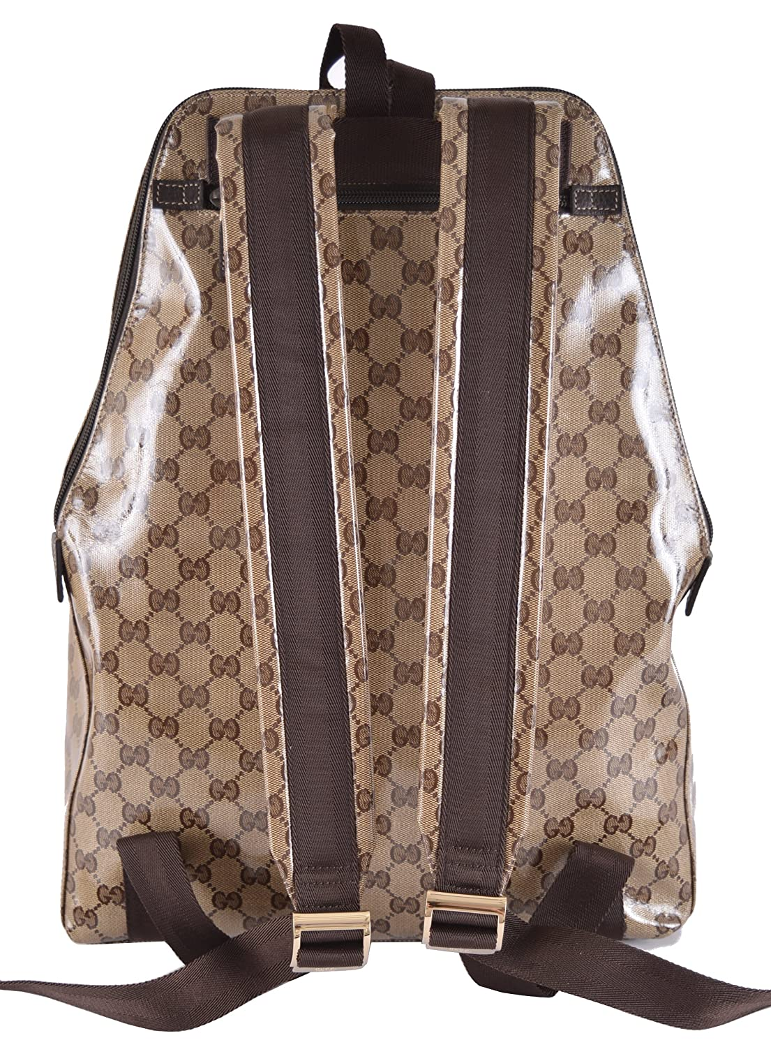 Gucci Men s Crystal Canvas XL GG Guccissima Backpack Bag  Amazon.co.uk   Clothing 849b2f09281d4