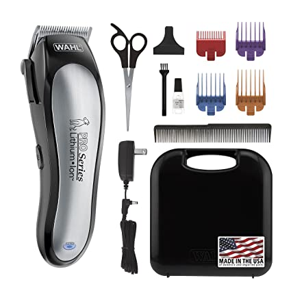 Amazon Com Wahl Lithium Ion Pro Series Cordless Dog Clippers