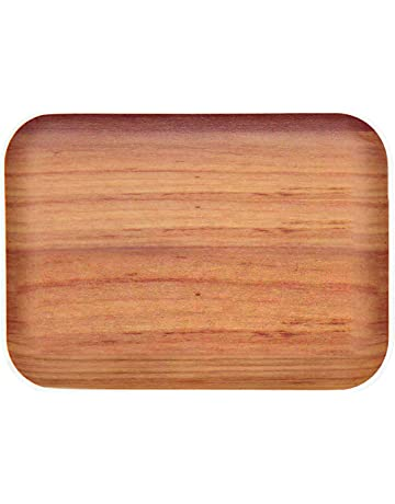 Cuisine, arts de la table Bois d'Acacia Plaque Ronde Serving Plateau en Bois Plateau HOME fromage plats Arts de la table