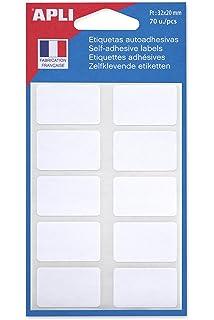 20 x 32 mm agipa Vielzweck-Etiketten weiß